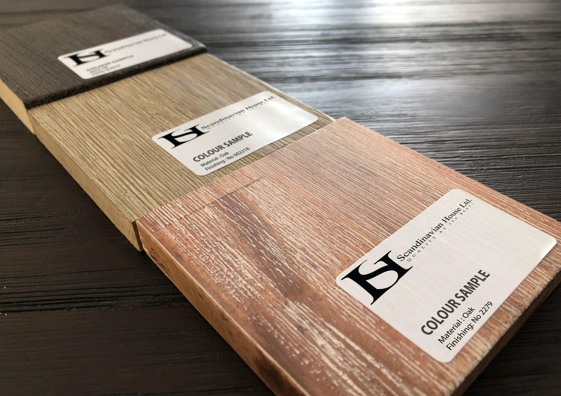 Material Wood Scandinavian House Finishing